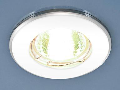 Светильник точечный 7002 MR16 WH/SL белый/серебро