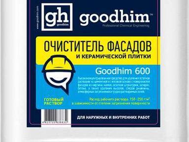Очиститель фасадов,керамич.плитки ГудХим-600 5л концентрат 1:5