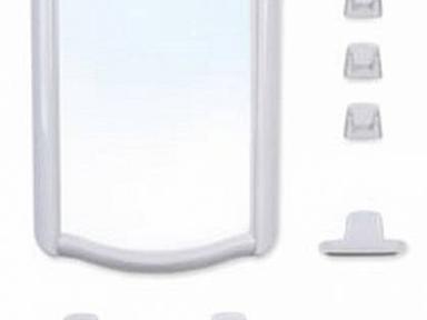 Набор для ванной Беросси 46 белый мрамор