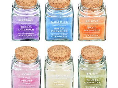 Свеча ароматическая в стекле 6,5*9,5см