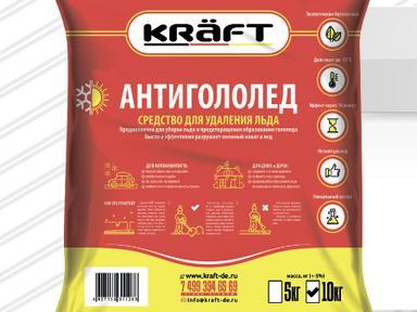 Антигололед Kraft 5кг
