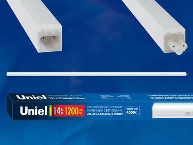 Светильник светодиодный ULI-E01-14W/DW/K WHITE,6000К