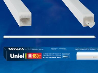 Светильник светодиодный ULI-E01-10W/DW/K WHITE,6000К