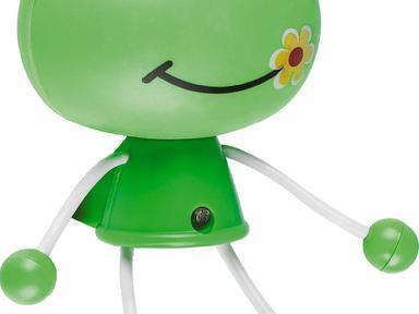 Светильник-ночник Лягушка FN1158 зеленый,оснащен датчиком день/ночь