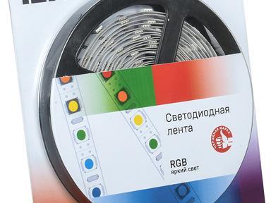 Светодиодная лента  LSR-5050RGB30-7,2-IP65-12V IEK, RGB цвет ,Артикул: LSR2-3-030-65-1-05