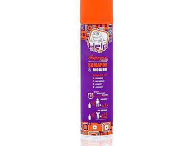 Аэрозоль от комаров и мошек Help 75 мл 80220