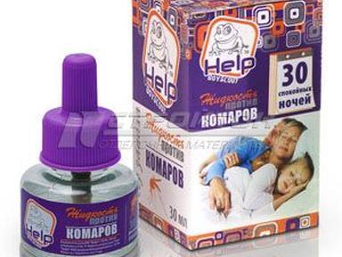 Жидкость от комаров Help 30 ночей 80500