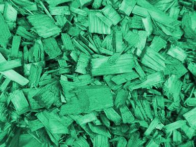 Щепа декоротивная (зеленая)60л