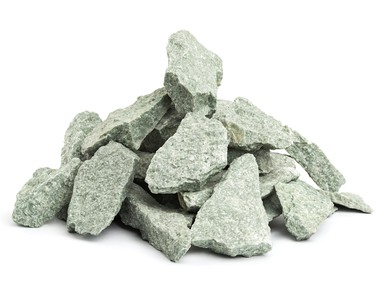 Камни для бани ЖАДЕИТ ЛЮКС  для электрокаменок 10 кг колотый