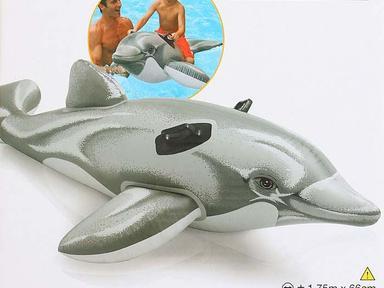 """Плотик """"Дельфин"""" 175*66см  58-535"""
