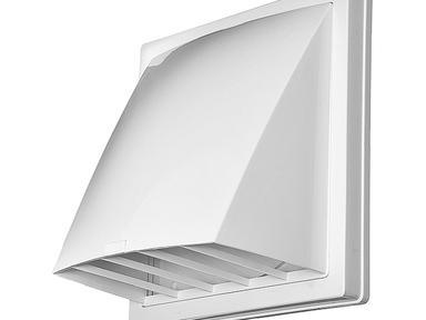 Стеновой выход вентиляц. вытяж.1515К12,5ФВ бел