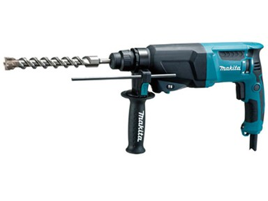 Перфоратор MAKITA HR 2600, 800W, SDS+2 реж, 2,9 Дж, 2,8 кг