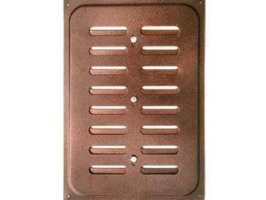 Решетка вент. 240х170 корич. метал раздвижная