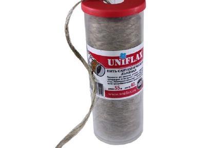 Лен сантехническая нить UNIFLAX 55м банка