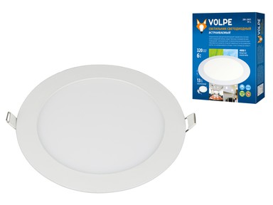 Светильник светодиодный ULP-Q203 R120-6W/NW WHITE