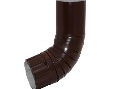 Отвод трубы 90/125 цинк