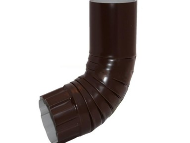 Отвод трубы 90/125 зеленый