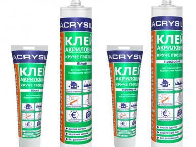 Клей-герметик 2в1 акриловый Lacrysil 280мл