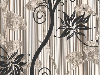 Пленка с/к 0,45м*8м арт 8292В цветы на зол.фоне