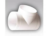 Тройник круглый пластмассовый 10ТП