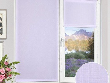 """Рулонная штора """"Дельфа"""" Лен сир 72(68)*160"""
