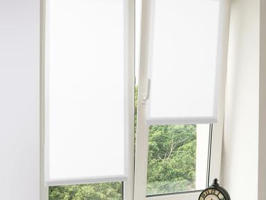 """Рулонная штора """"Дельфа"""" Лен бел 72(68)*160"""