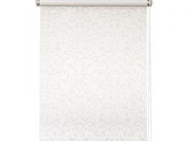 """Рулонная штора """"Дельфа"""" Жаккард  бел 72(68)*160"""