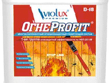 Огнебиозащита Проф Viotex 11,5 кг Д-18 розовый