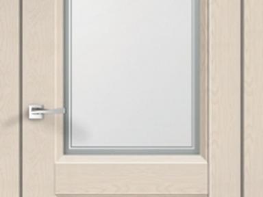 Д.П  Alto 6 со стеклом Ясень капучинно 70*2000