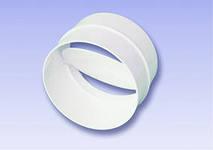 Соединитель круглых каналов с клапаном обратным 12,5СКПО