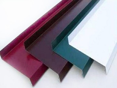 Отлив цветной гладкий 2000х150 мм (коричневый)