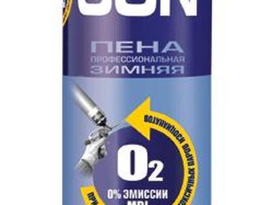 Пена монтажная ТИТАН ПРОФИ GUN зима -10* 750мл