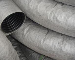 Труба дренаж ф 160 геоткань (рулон-50 м/п)