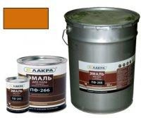 Эмаль ПФ-266 для пола желто-коричневый 20 кг (Лакра Синтез)