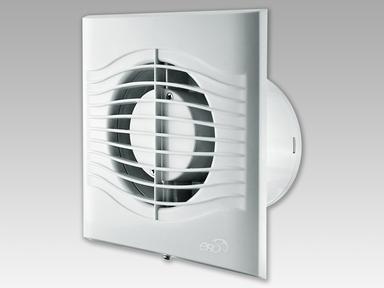 Вентилятор накладной осевой слим 4ЕТ