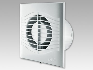 Вентилятор накладной осевой слим 6С