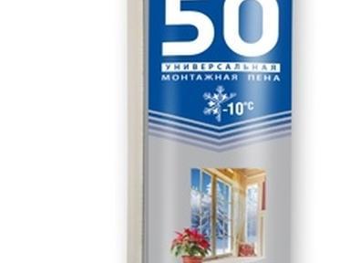 Пена монтажная КRASS 50 бытовая 750 мл