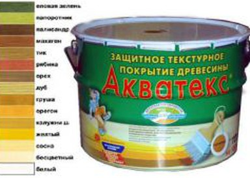 Акватекс 10л дуб деревозащитное средство