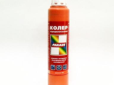 """Колер """"PARADE"""" 0,75 л оранжевый"""