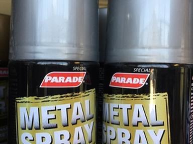 Краска аэрозоль PARADE акриловая 1680 металлик серебро 400мл