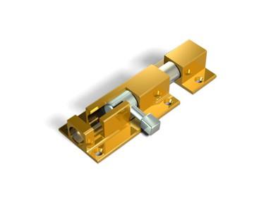 Шпингалет Apecs DB-05-50 золото