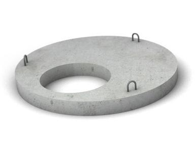 Крышка бетонная ПП10-1, ф1000 мм вес-200 кг