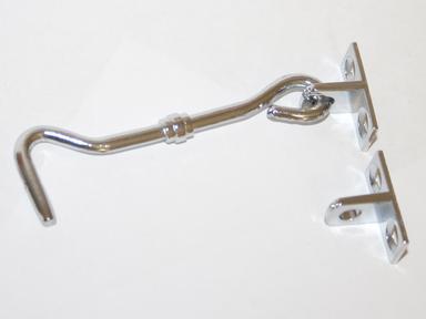Крючок накидной №1 (белый)