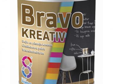 Краска грифельная BRAVO KREATIV 0,5л Чёрный