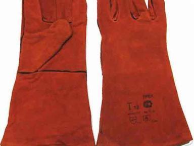 Краги красные с термопрокладкой