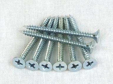 Саморезы оцинк. универс. 4х60 (9шт)