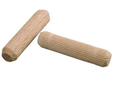 Шканты мебельные ф6 мм х30 мм (15шт) береза 10942