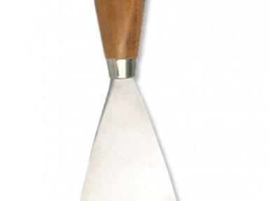 Шпатель малярный  нерж. 25-30 мм