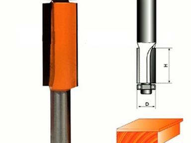 Фреза  стронг кромочная прямая ф 8.10.25 с нижним подшибником