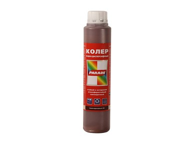 "Колер ""PARADE"" 0,75 л темно-коричневый"